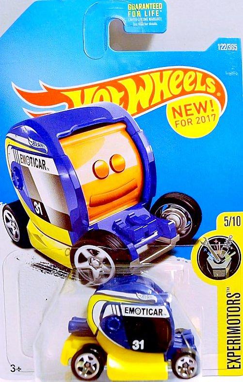 Emoticar Amarelo e Azul - Hot Wheels