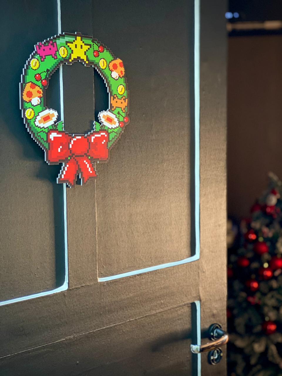 Enfeite Árvore de Natal Geek Itens Retro