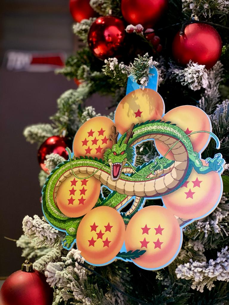 Enfeite Árvore de Natal Geek Shenlong: Dragon Ball Z