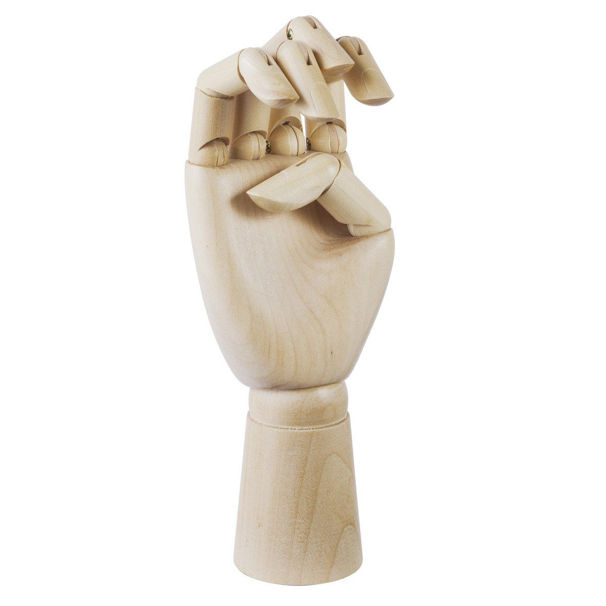 Enfeite de Madeira: Mão articulada (25cm)