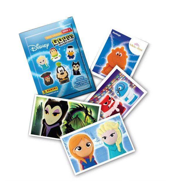 Envelope Disney Gogo's: Crazy Bones Série 2 (4 Minicromos + 1 Disney Gogo's Grátis) - Panini