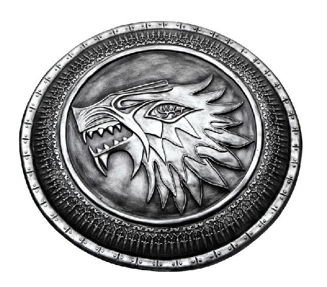 Escudo Casa Stark: Game of Thrones (Decorativo)