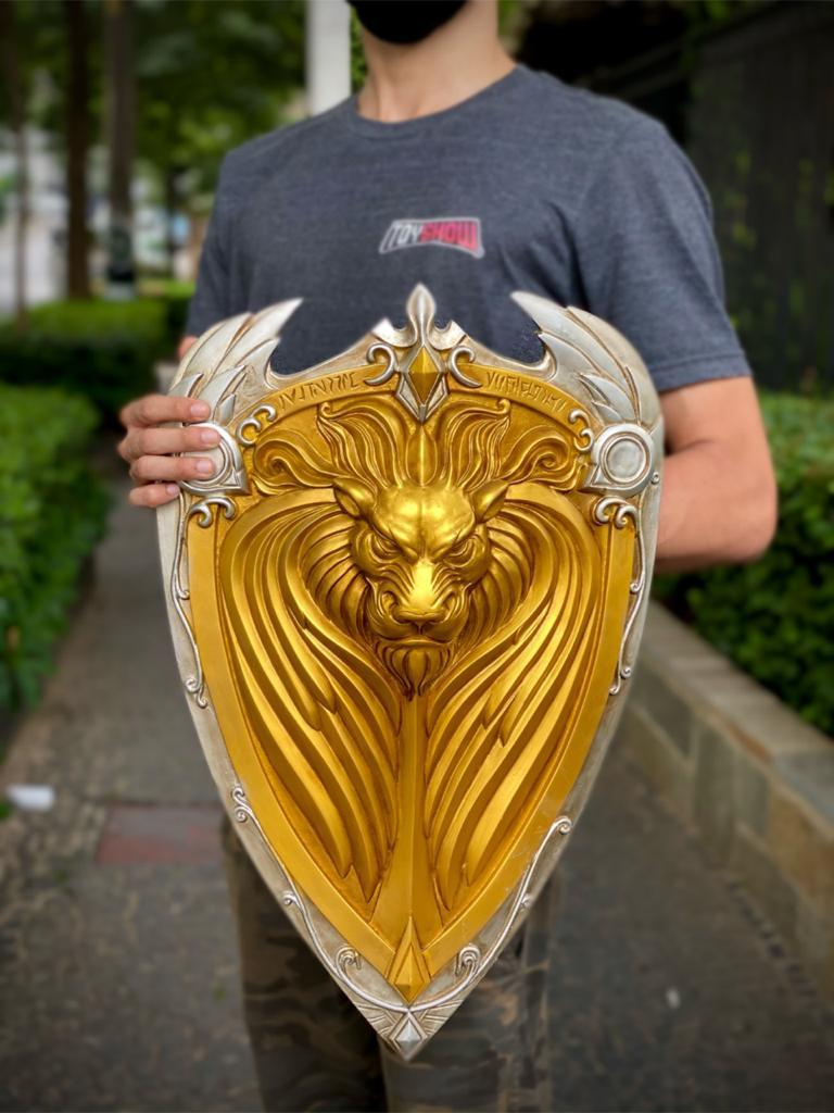 Escudo da Aliança: Warcraft (Decorativo)