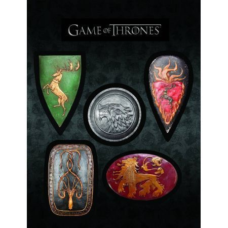 Escudos Magnéticos Game Of Thrones - Dark Horse