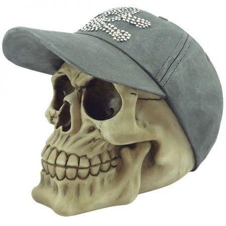 Escultura Caveira Hat With Shiny