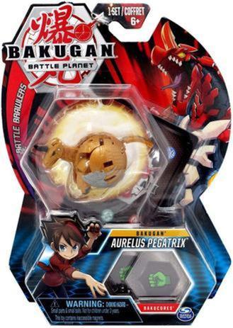 Esfera Bakugan Battle Brawlers Aurelus Pegatrix: Bakugan Battle Planet - Sunny