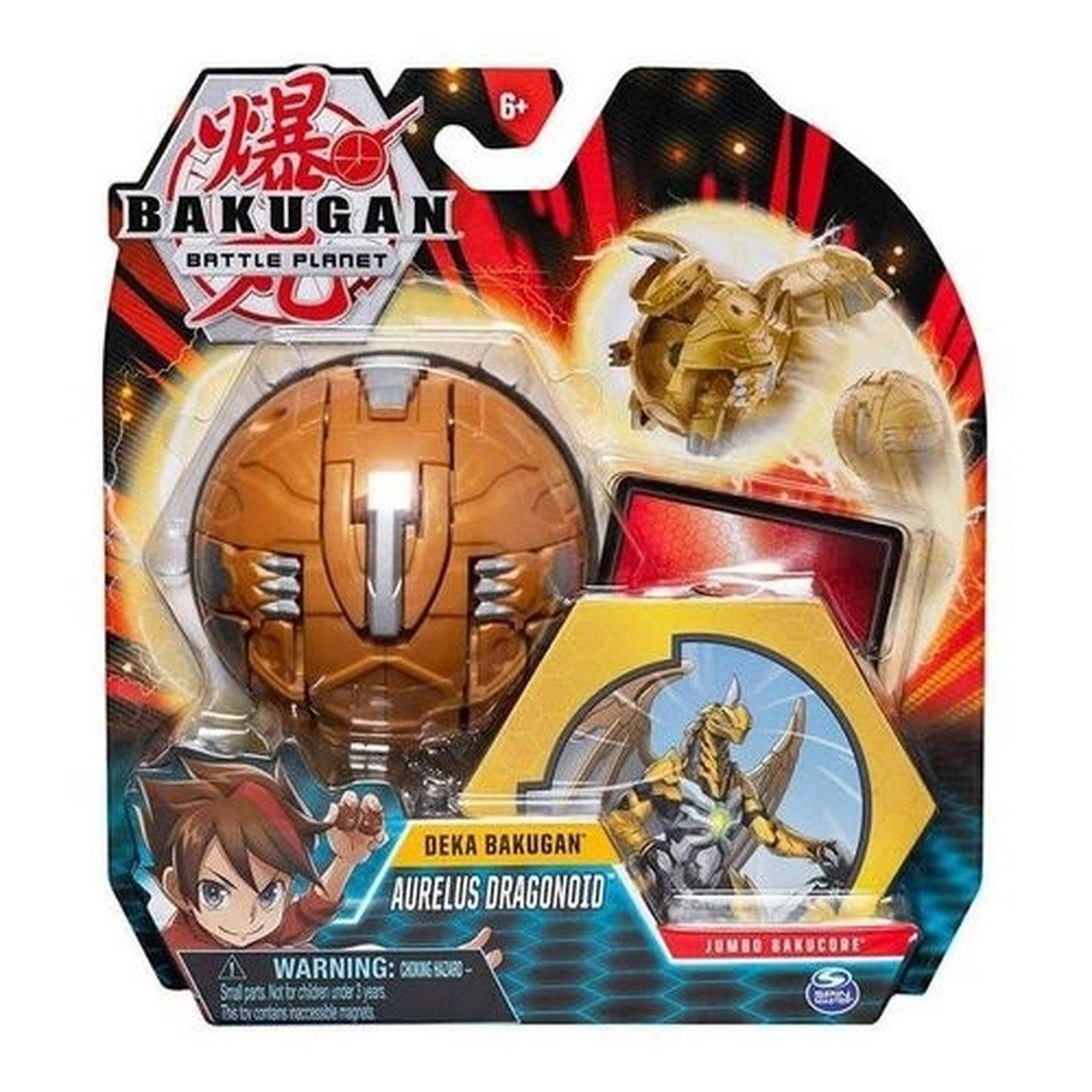 Esfera Gigante Aurelus Dragonoid: Bakugan Battle Planet (Deka Bakugan) - Sunny