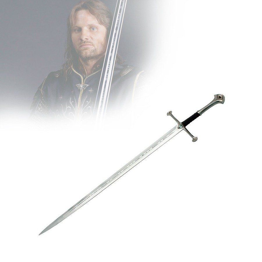 Espada Anduril (Aragorn): O Senhor dos Anéis (The Lord of the Rings)