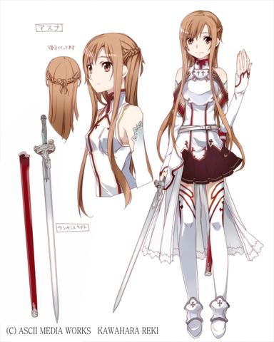 Espada Asuna Lightning Fast Rapier: Sword Art Online