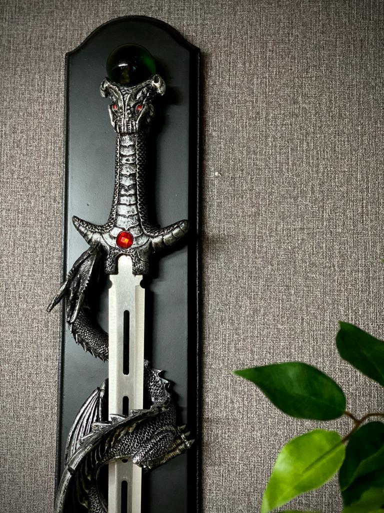 Espada  Dragão Ornamental (Com Suporte) 85cm