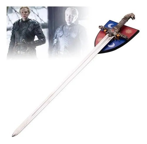 Espada Game of Thrones: Oathkeeper Brienne Sword - Valyrian Steel