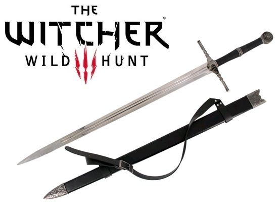 Espada Geralt de Rívia (Steel Sword II): The Witcher 3 (Wild Hunt)