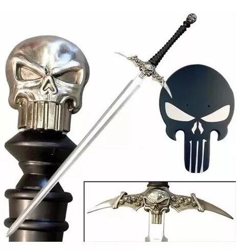 Espada Justiceiro (Punisher) - (Com Suporte)
