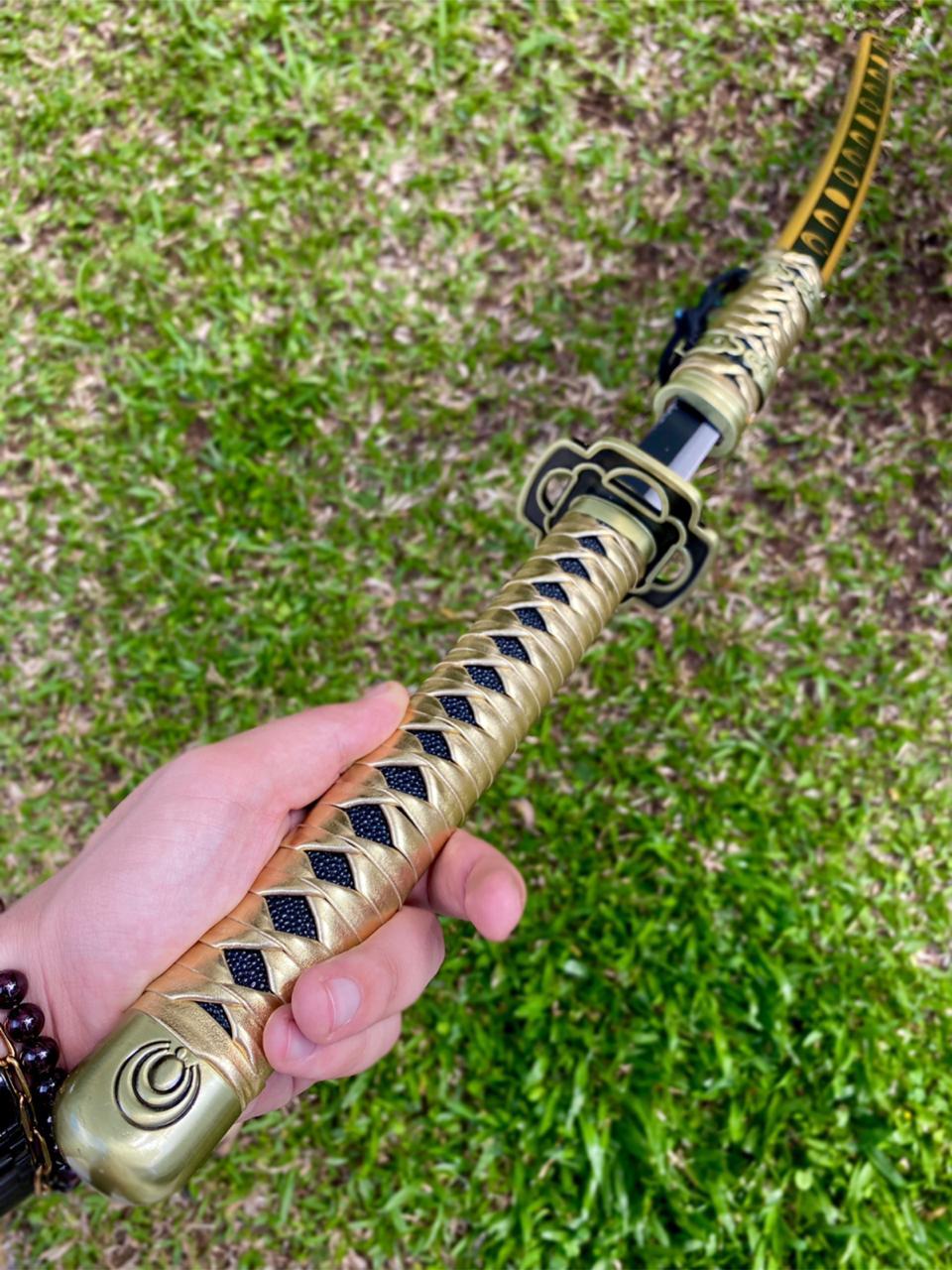 Espada Katana (Dourada)