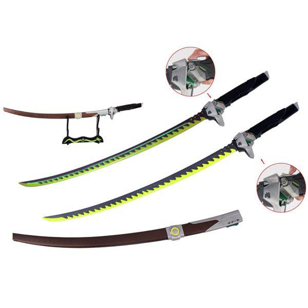 Espada Katana Genji (Dragon Sword): Overwatch (Com Led)