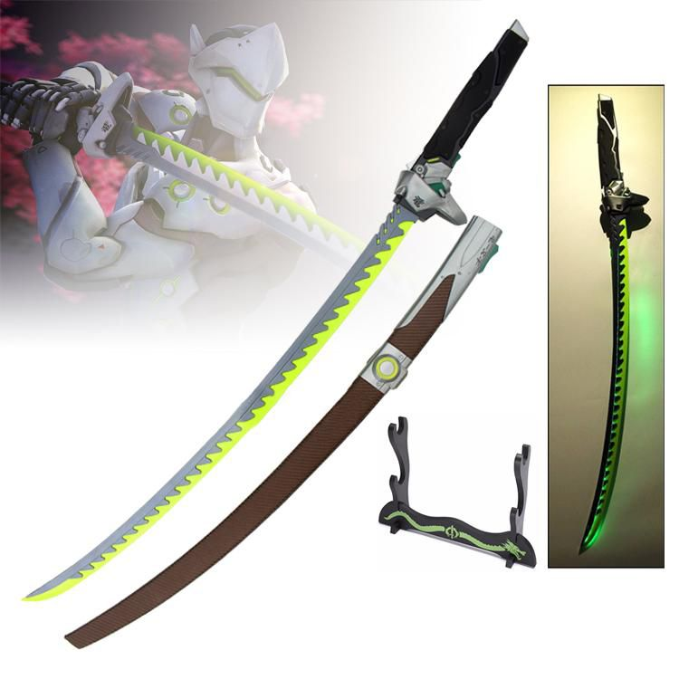 Espada Katana Genji (Dragon Sword): Overwatch (Com Led)