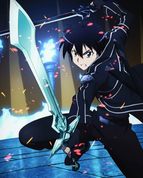 Espada Kirito Dark Repulser: Sword Art Online