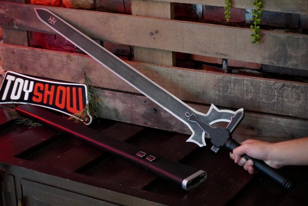 Espada Kirito Elucidator: Sword Art Online (105cm) Versão 2 (PFL149020)