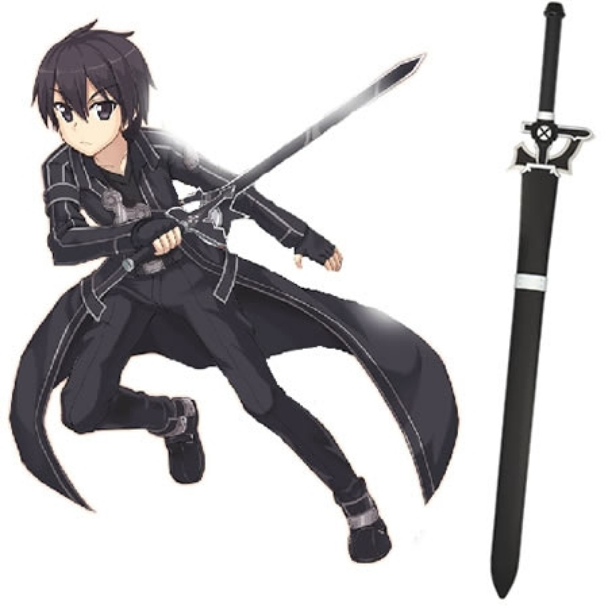Espada Kirito Elucidator: Sword Art Online