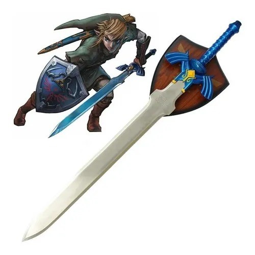 Espada Link (Master Sword Azul) Suporte: The Legend of Zelda