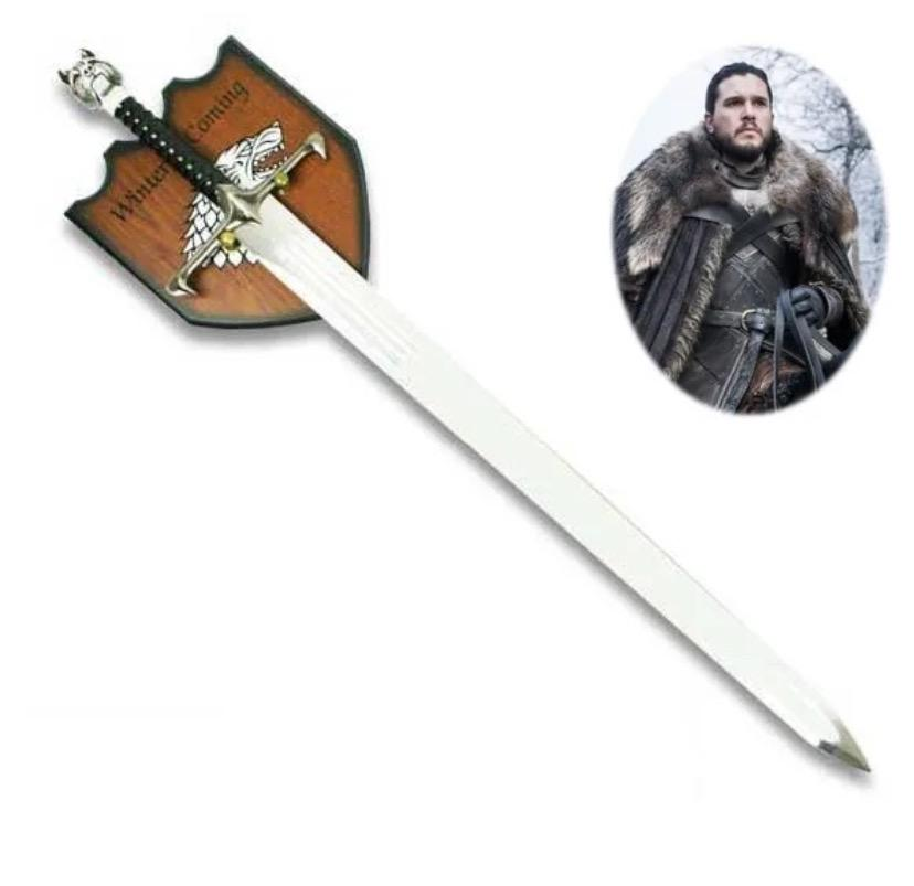 Réplica Espada Com Suporte Longclaw (Jon Snow): Game of Thrones