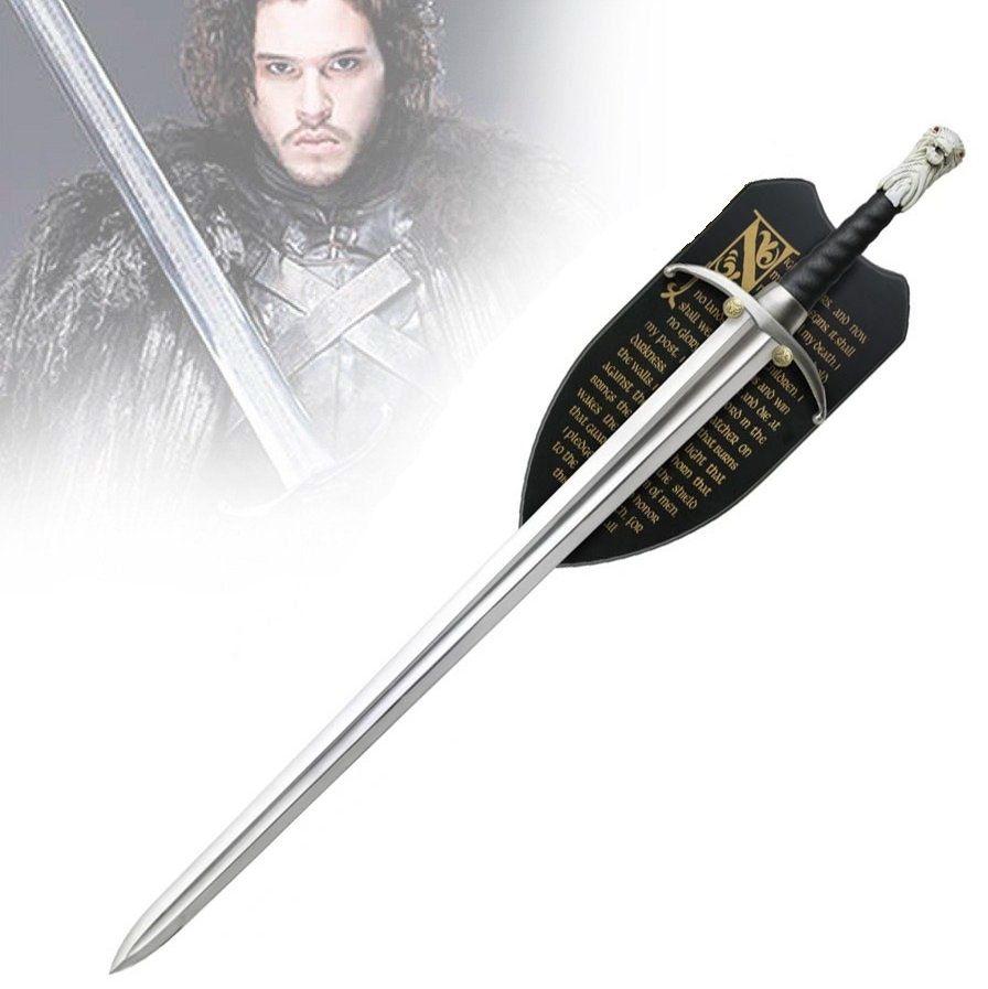 Espada Longclaw (Jon Snow): Game of Thrones (Com Suporte)