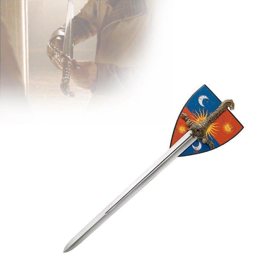 Espada Oathkeeper (Brienne de Tarth): Game of Thrones 117 cm com Suporte (HK8792)