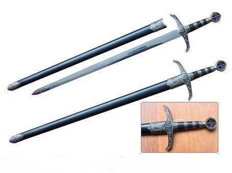 Espada Rei Davi - Preta