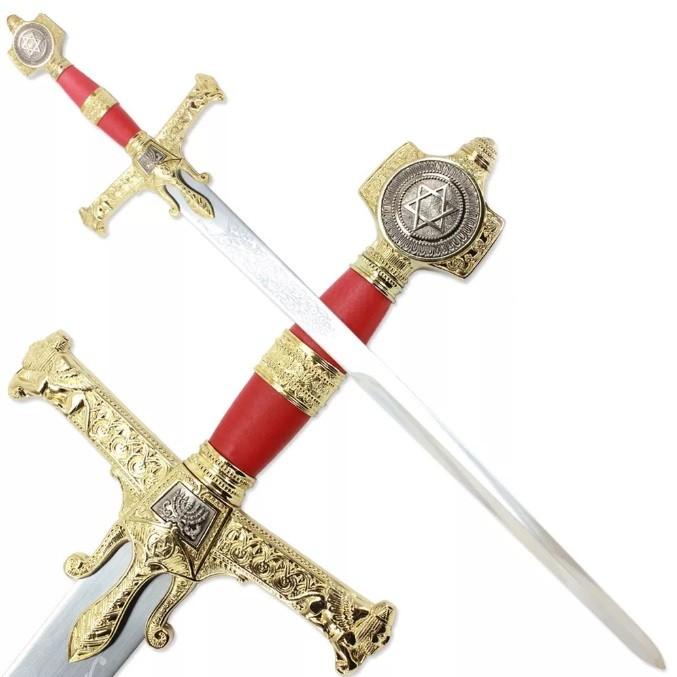 Espada Rei Salomão: Espada 121cm