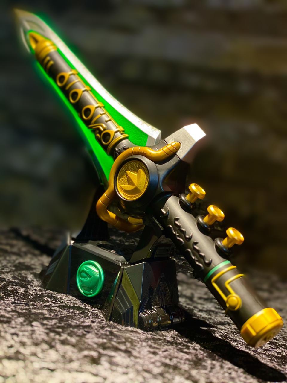 Espada Réplica Legacy Dragon Dagger (Ranger Verde): Power Rangers - Hasbro