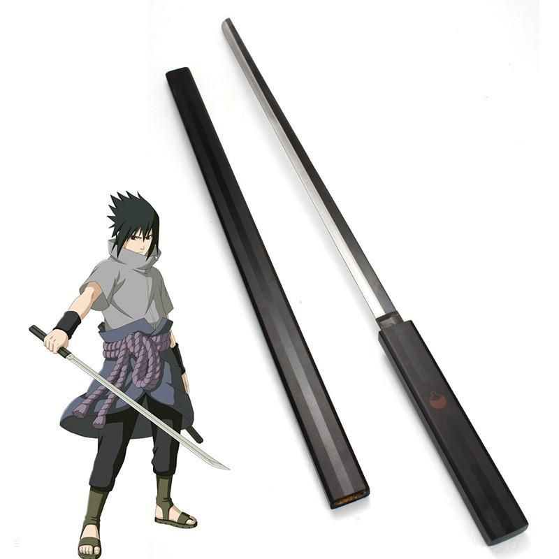 Espada Sasuke Uchiha (Sword of Kusanagi): Naruto Shippuden (99cm) (Preto)