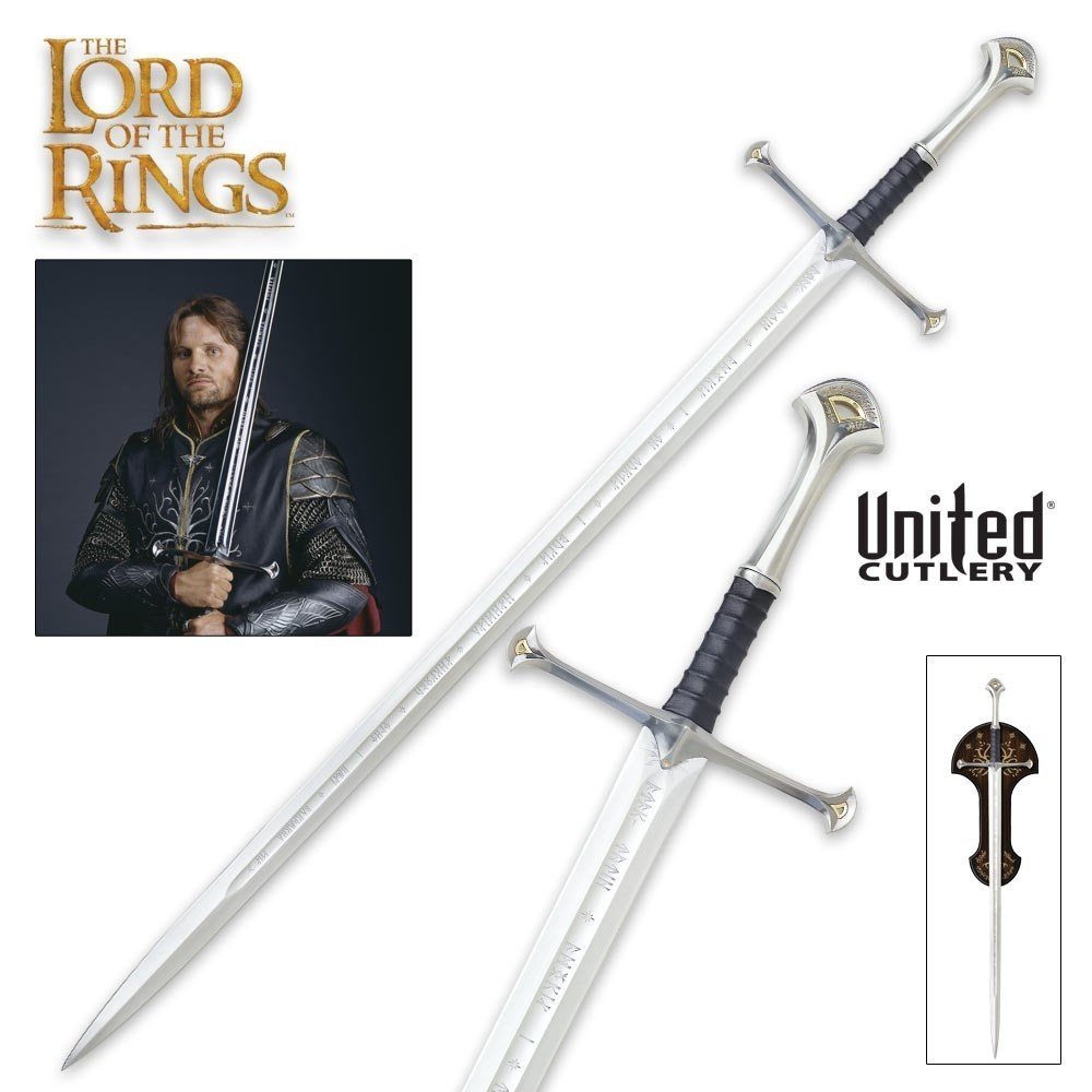 Espada The Lord Of The Rings (O Senhor dos Anéis): King Elessar Anduril - United Cutlery