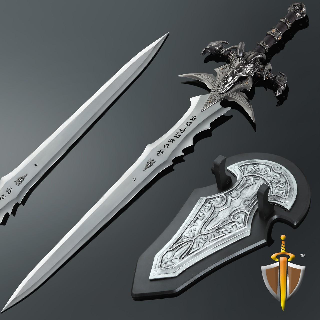 Espada World Of Warcraft: Frostmourne com Suporte