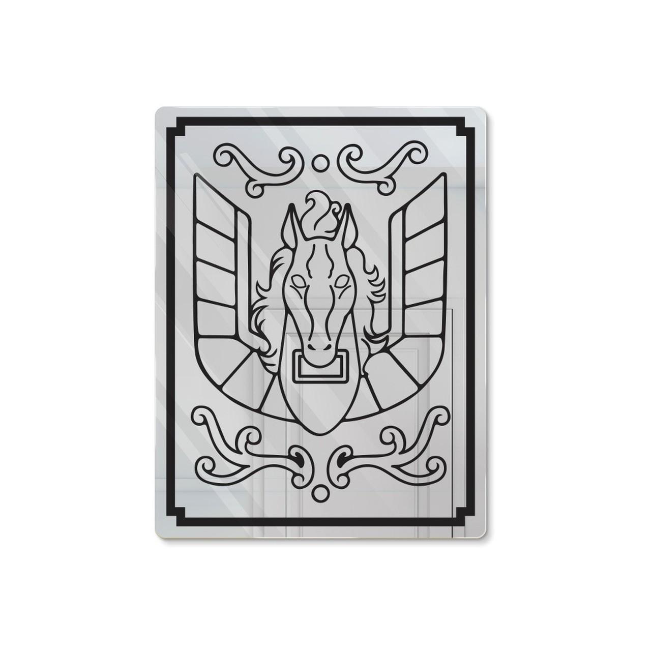 """Espelho Acrílico """"Caixa da Armadura de Bronze"""": Pegasus - Os Cavaleiros do Zodíaco"""