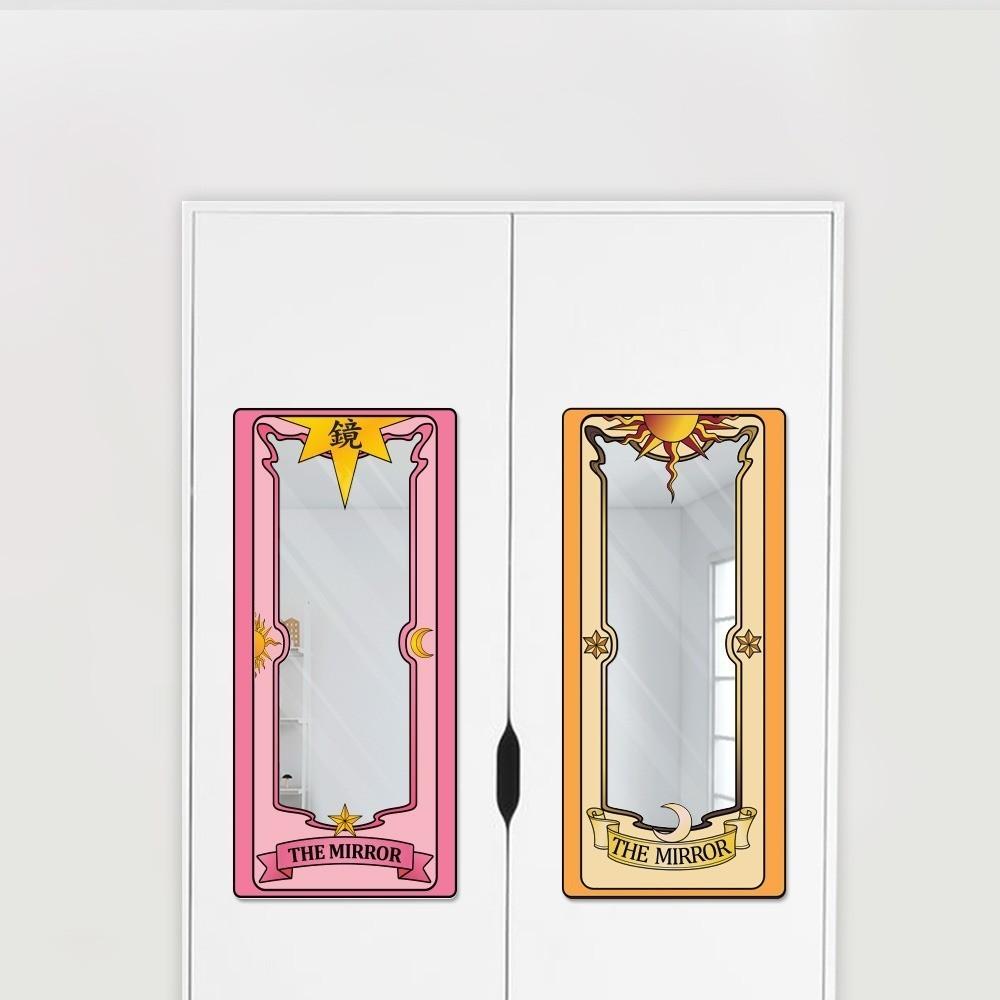 Espelho Acrílico Carta Clow (Rosa): Sakura Card Captors