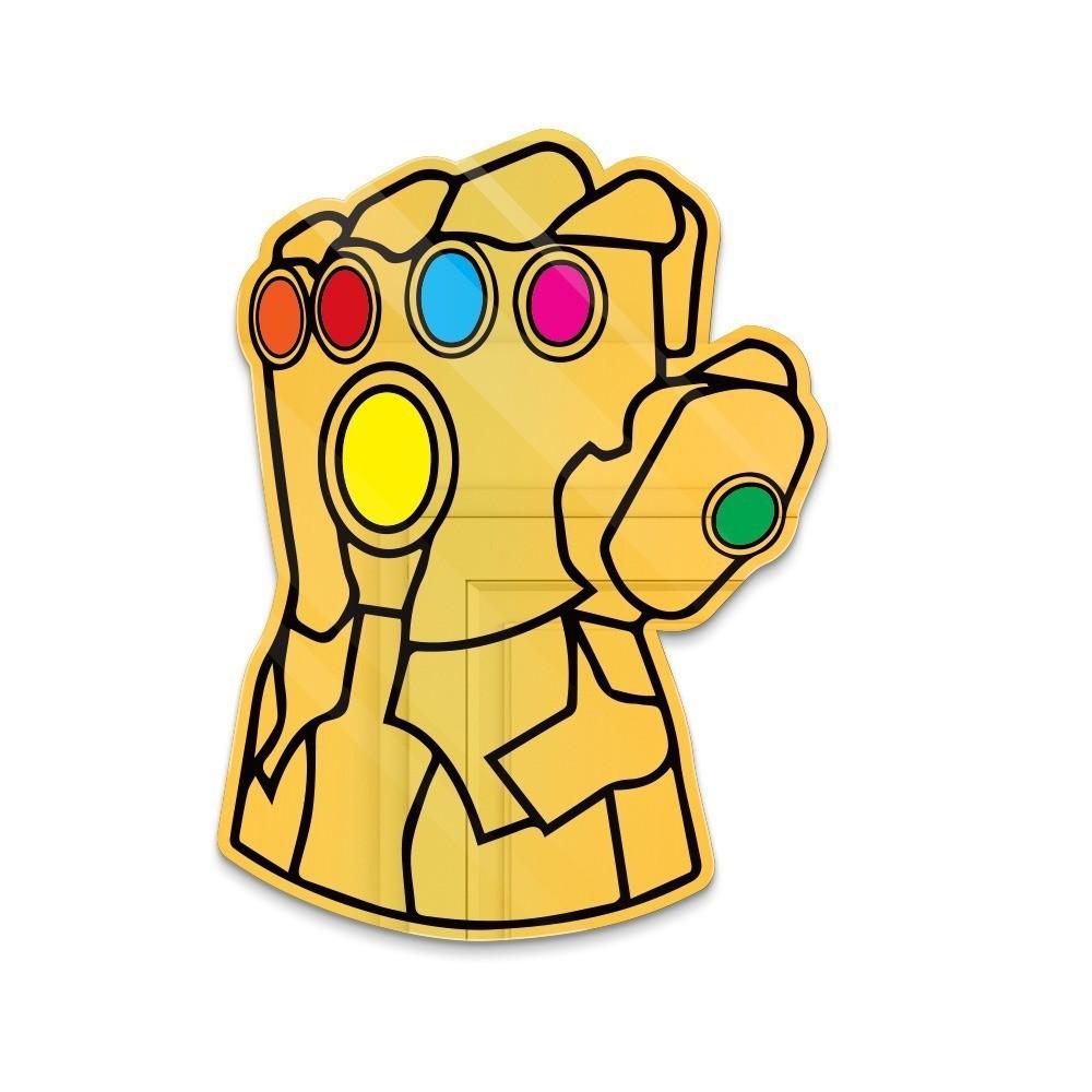 """Espelho Acrílico """"Manopla do Infinito"""": Thanos - Marvel"""