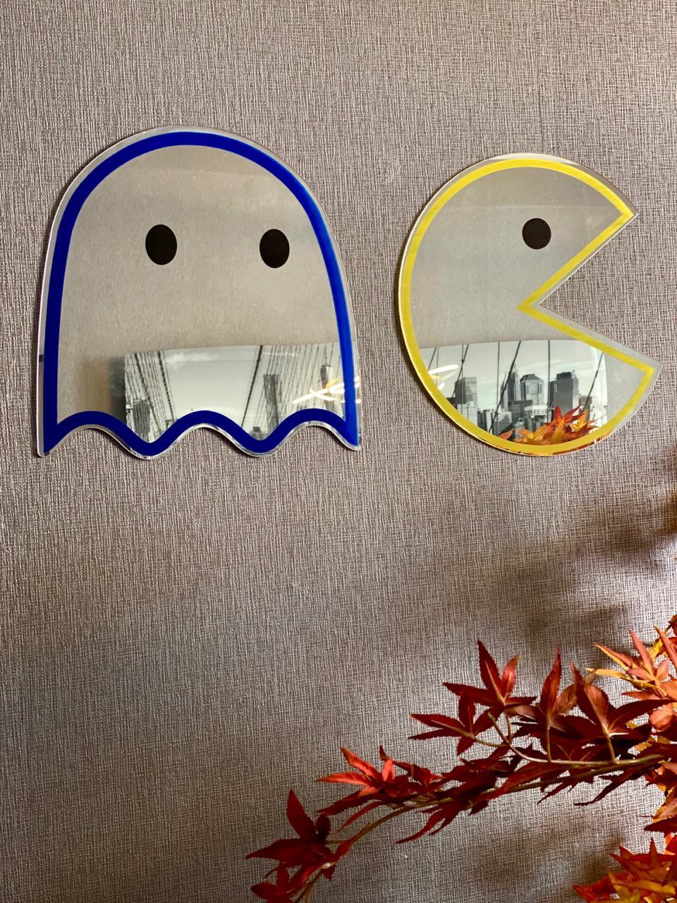 Espelho Acrílico Pac-Man