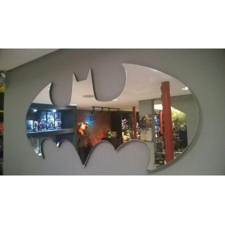 Espelho Logo Batman (120 cm) - Metropole