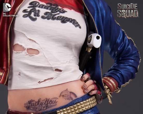 Esquadrão Suicida Harley Quinn Estátua - DC Collectibles
