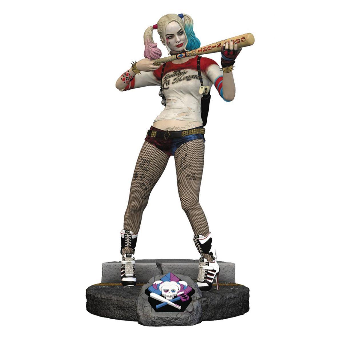 Estátua Harley Quinn Escala 1/6: Esquadrão Suicida (Suicide Squad) Finders Keypers - Elephant Gun LLC