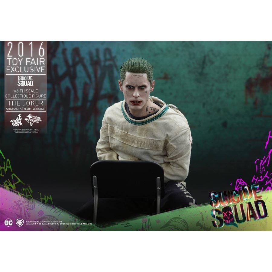 Action Figure Coringa (Joker) Versão Arkham Asylum: (Esquadrão Suicida) Escala 1/6 (MMS373) - Hot Toys