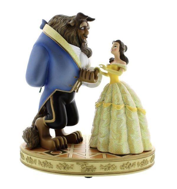 Estátua A Bela e a Fera (Beauty and Beast) - Disney Parks