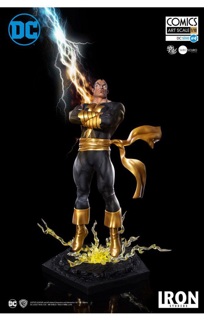 Estátua Adão Negro (Black Adam): DC Comics Serie 4 (Ivan Reis) Art Scale 1/10 - Iron Studios