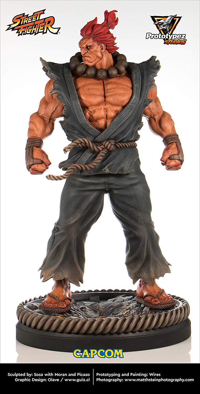 Estátua Akuma: Street Fighter (Escala 1/4) - Prototypez Studio
