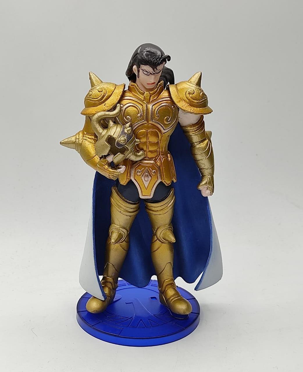 Estátua Aldebaran Armadura de Ouro de Touro: Cavaleiros do Zodíaco