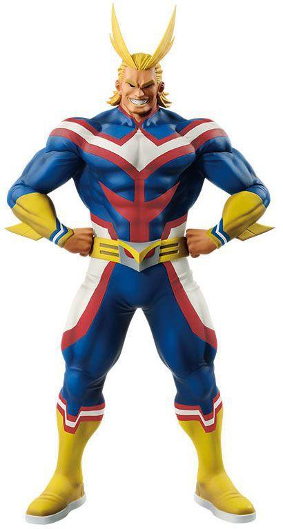 Action Figure All Might (Age of Heroes): Boku no Hero Academia (My Hero Academia) Boneco Colecionável - Banpresto