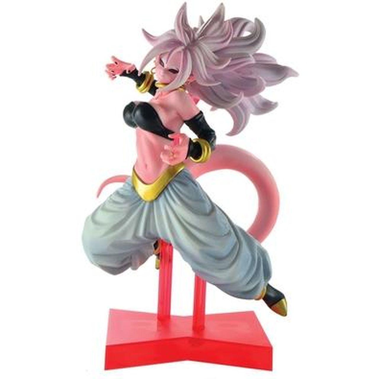 Estátua Android 21: Dragon Ball Z (The Android Battle) Anime Mangá - Banpresto Bandai