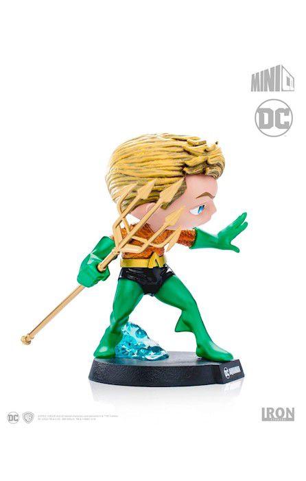 Estátua Aquaman: Dc Comics Mini Heroes - Mini Co