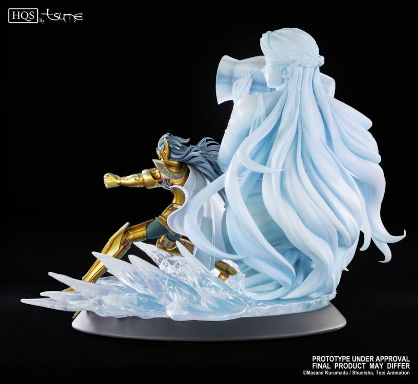 Pré Venda: Estátua Aquarius De Camus: Os Cavaleiros dos Zodíacos (Saint Seiya) Edição Limitada -  Tsume