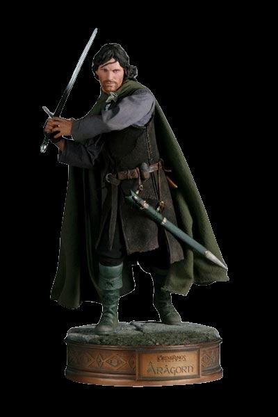 Estátua Aragorn: O Senhor do Anéis (The Lord Of The Rings) (Premium Format) Escala 1/4 - Sideshow